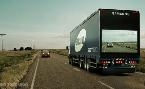 Samsung Transparent Truck